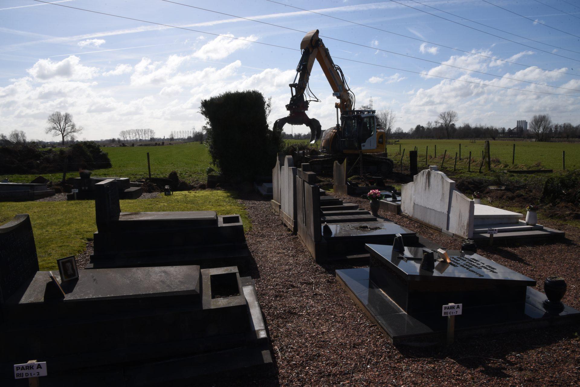 Slechts een selectie aan waardevolle graven kan behouden blijven