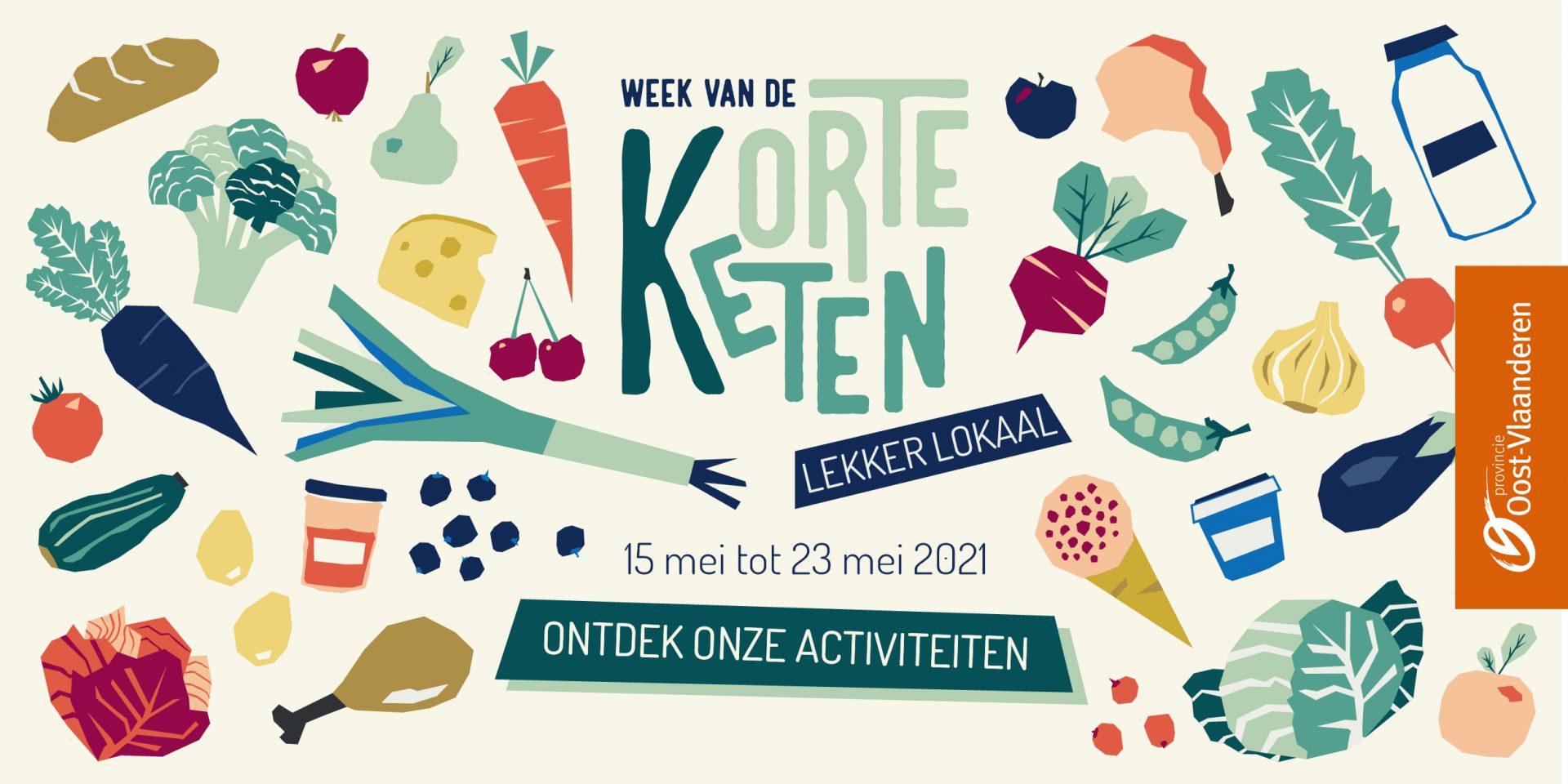 Oost-Vlaamse producten tijdens de Week van de Korte Keten proeven