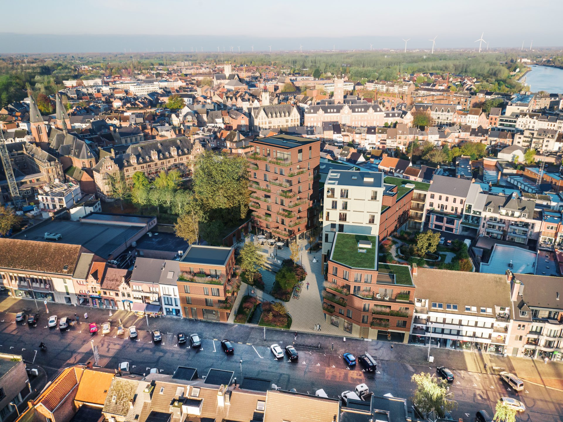 Bouw Hof van Saeys Dendermonde kan van start gaan