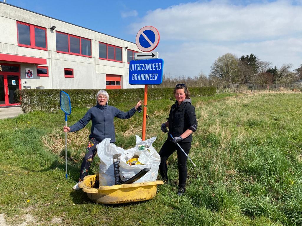 CD&V helpt mee zwerfvuil rapen in Berlare