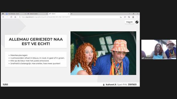 Quiz Pedierekes Fong van De Minne online gehouden