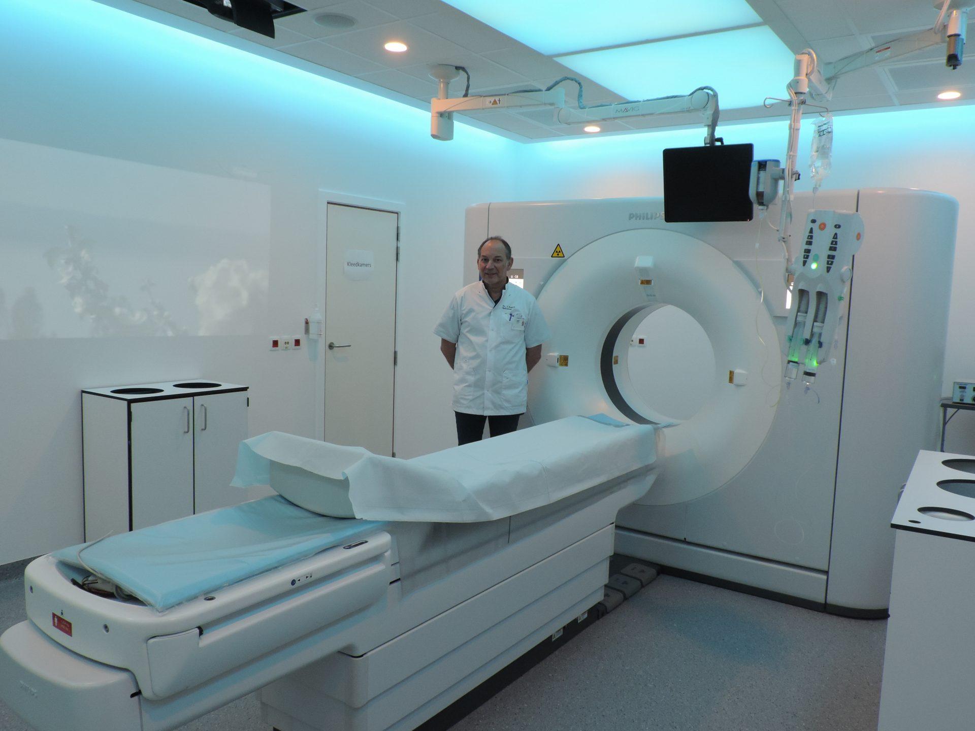 Spectrale CT-scanner in az Sint-Blasius biedt tal van voordelen voor de patiënt