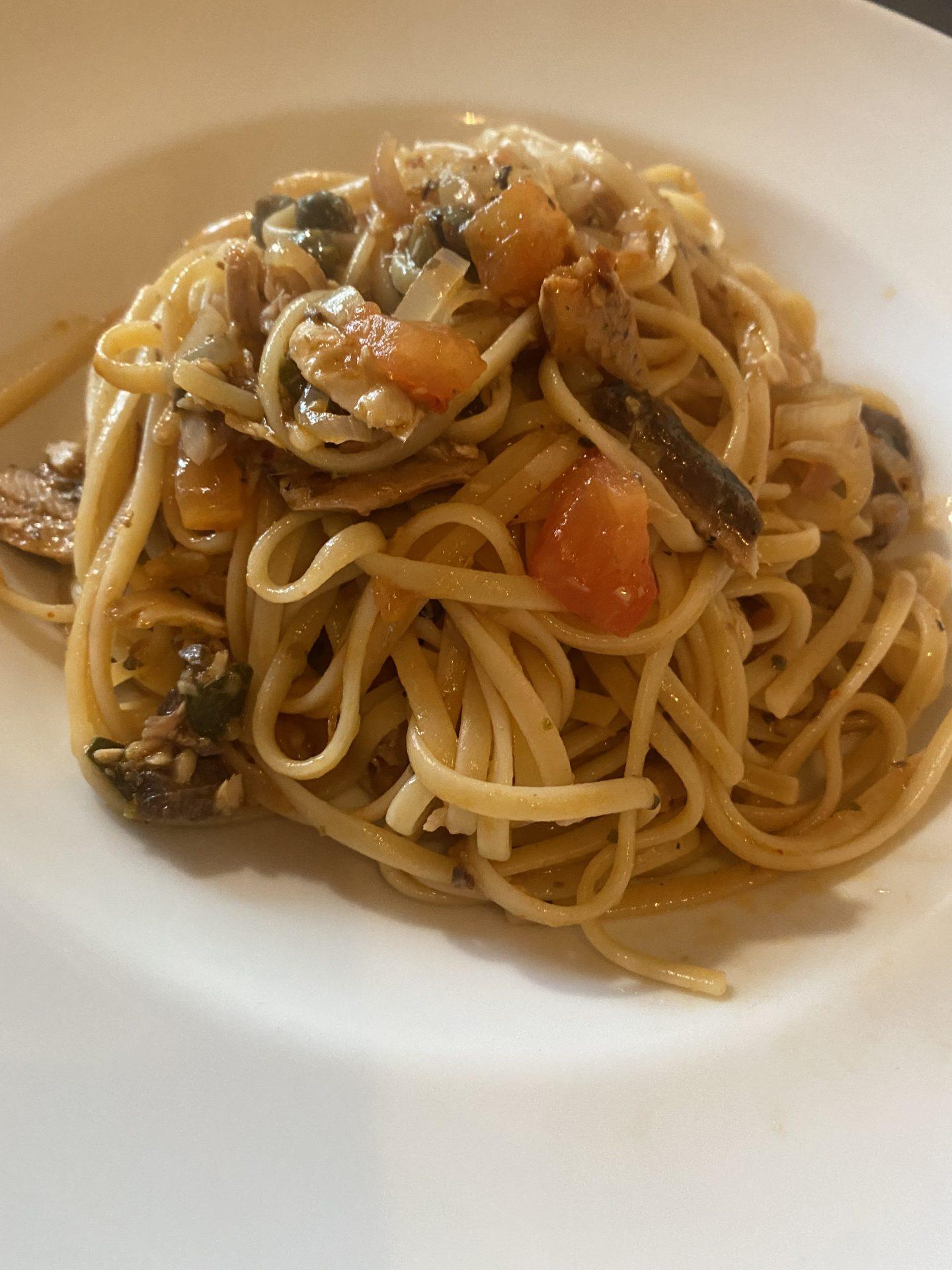 RECEPT: Supersnelle pasta met sardines