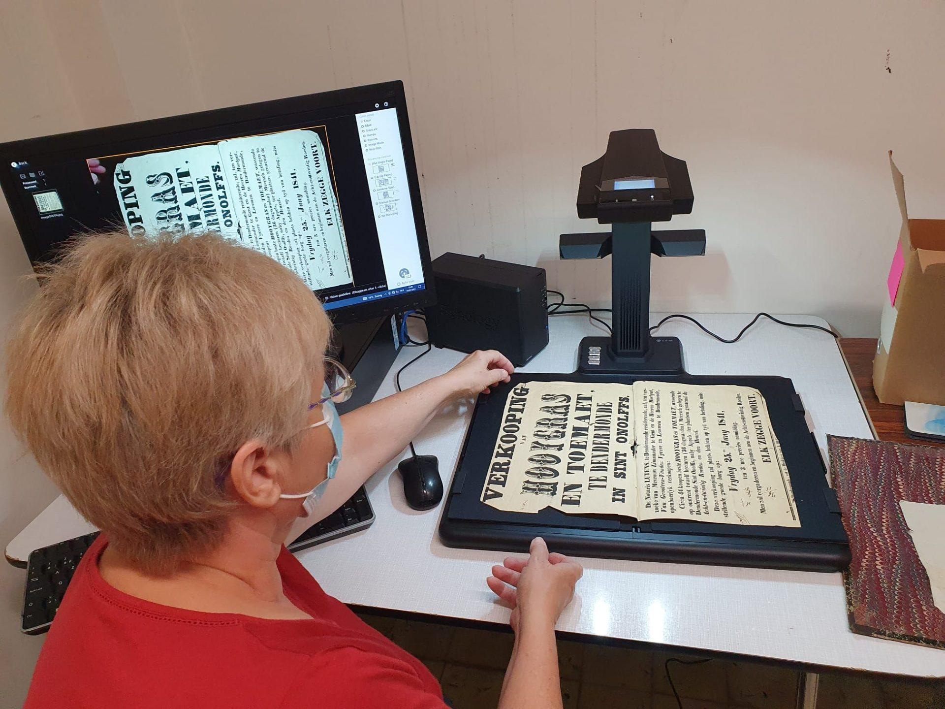 Gemeente koopt scanner voor digitalisering archief