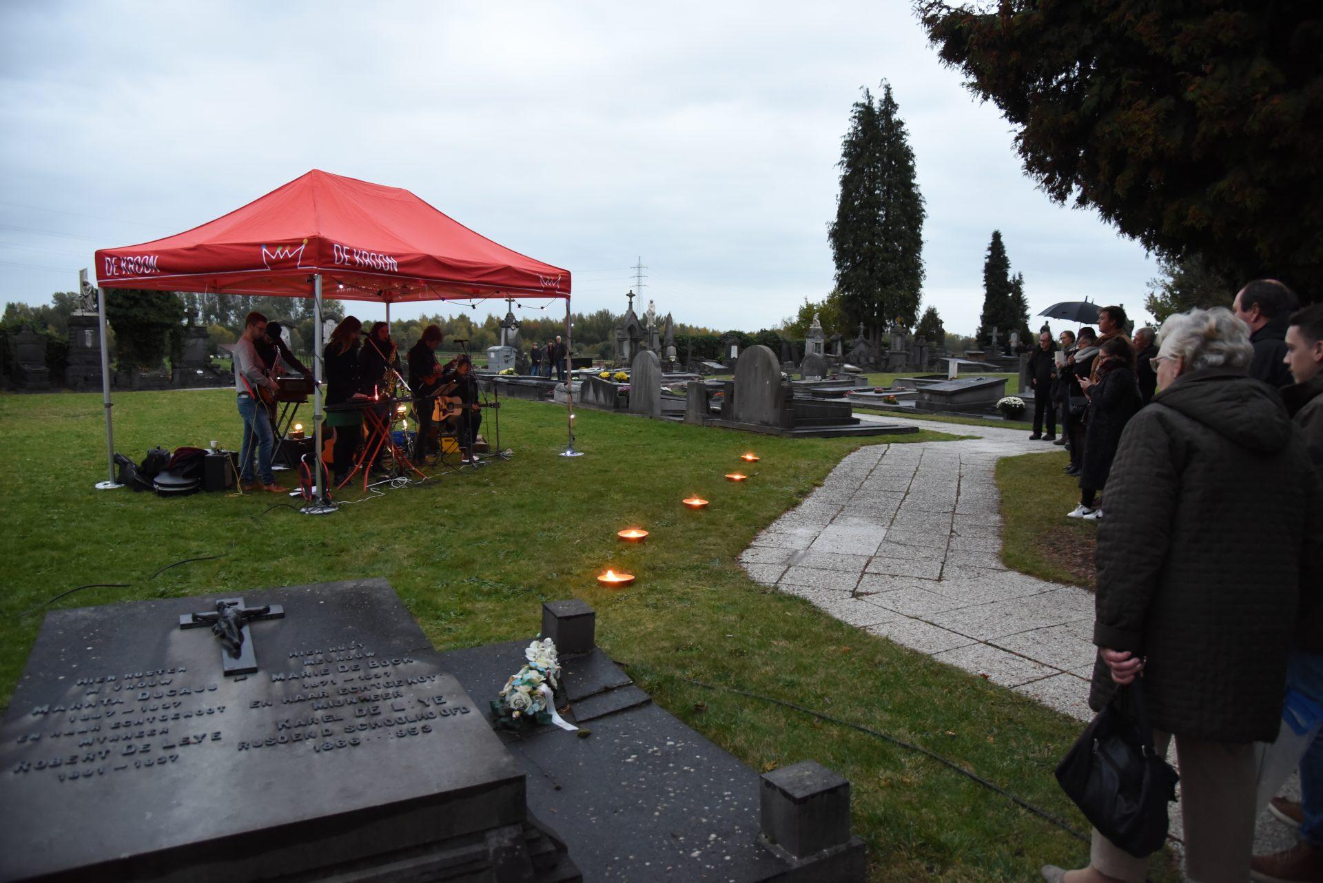 Doe je mee met Reveil op de begraafplaats van Grembergen?