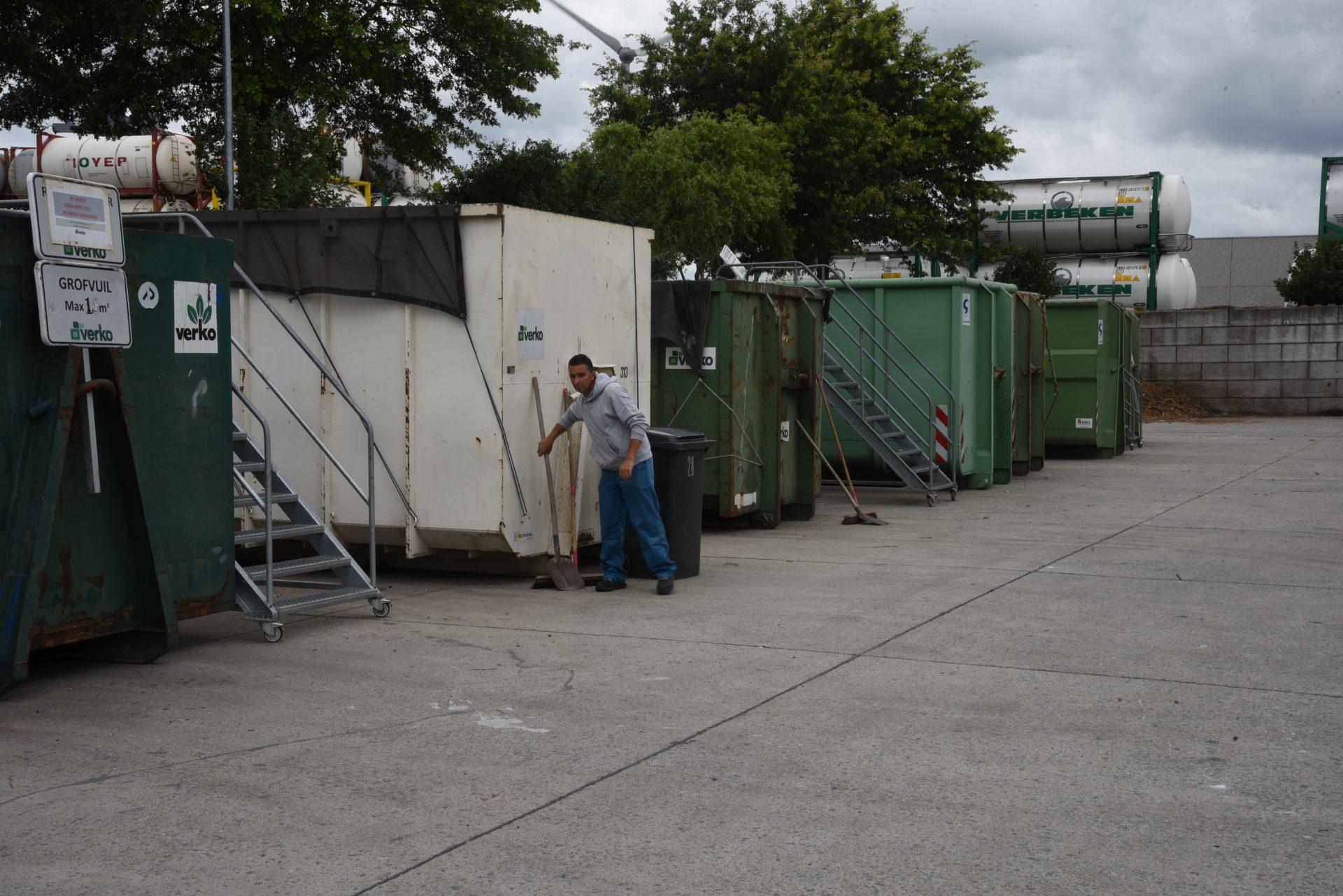 Recyclagepark Hoogveld Dendermonde uitzonderlijk gesloten