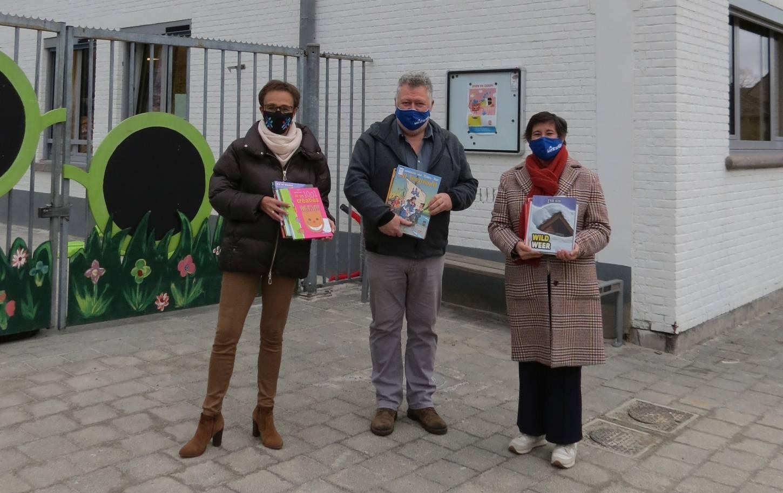 Puurs-Sint-Amands brengt boeken naar de klas
